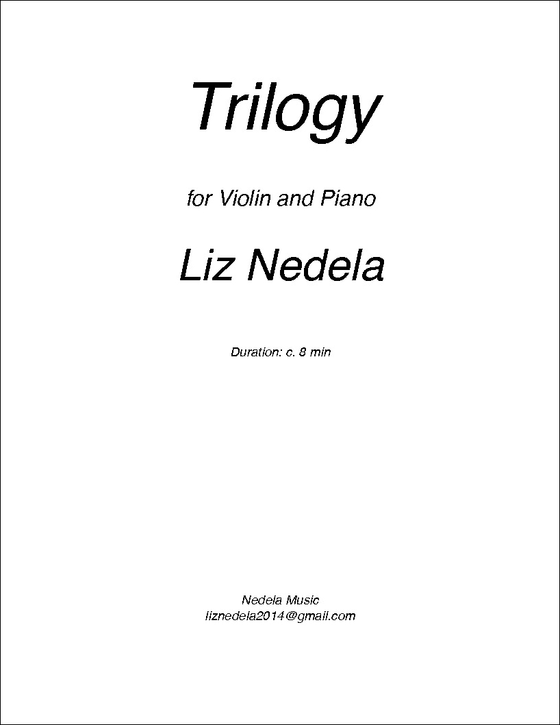 Triology for Violin and Piano