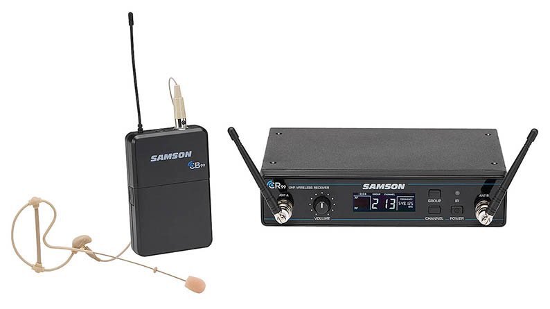 Concert 99 Earset, UHF Wireless System