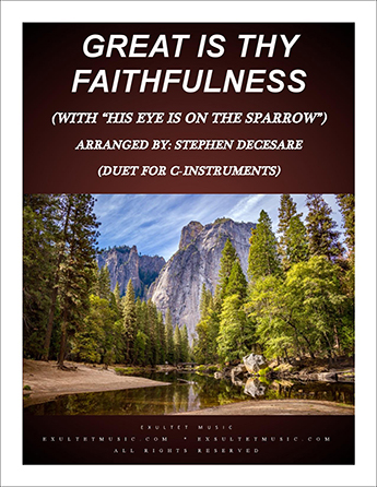 Great Is Thy Faithfulness with