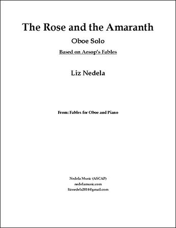 The Rose and the Amaranth - Oboe Solo, Unaccompanied