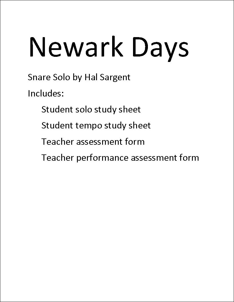 Newark Days