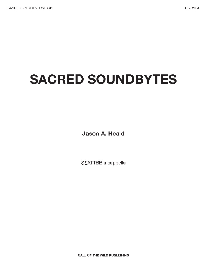 Sacred Soundbytes