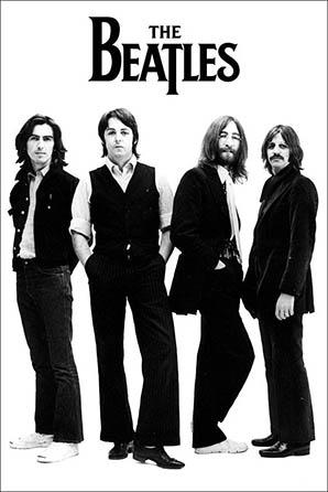 The Beatles White Album Group Shot Poster