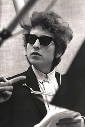 Bob Dylan Shades Poster