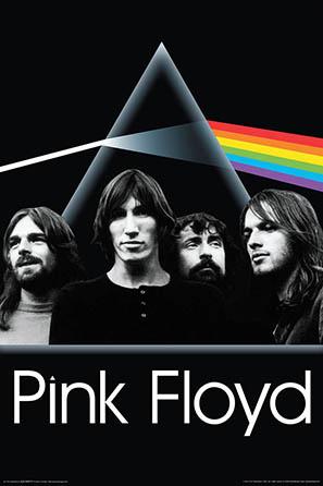 Pink Floyd Dark Side Group Poster
