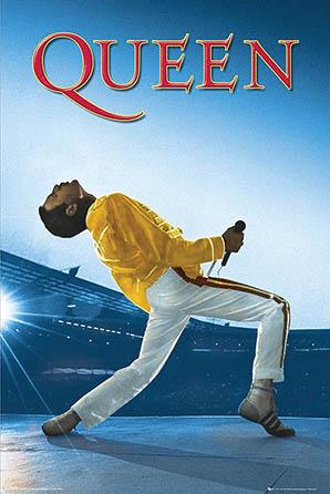 Queen: Freddie Live at Wembley Stadium Poster
