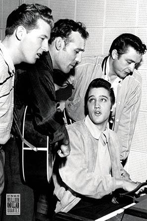Million Dollar Quartet Poster