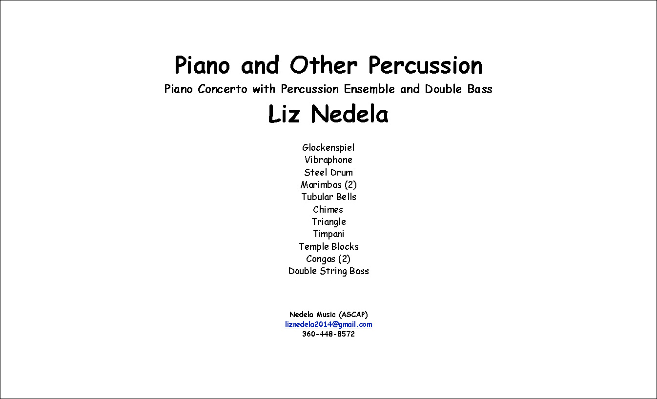 Piano and Other Percussion