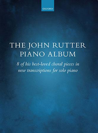 The John Rutter Piano Album piano sheet music cover