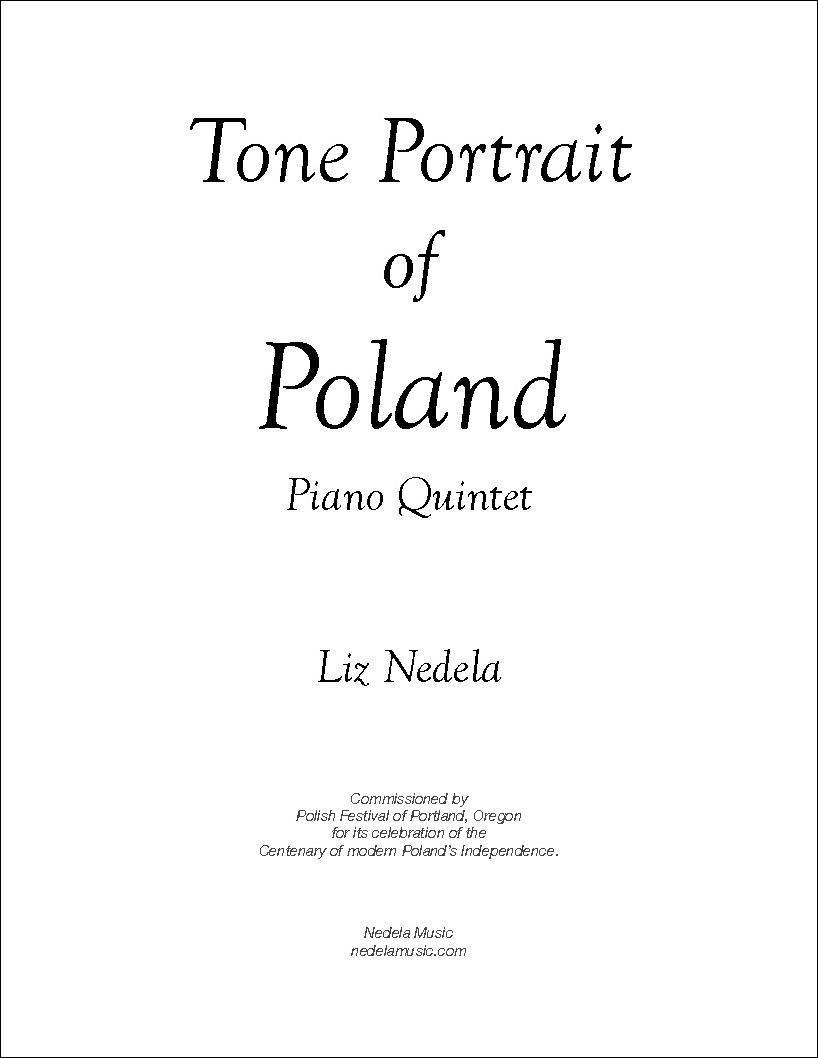 Tone Portrait of Poland - Five National Dances of Poland