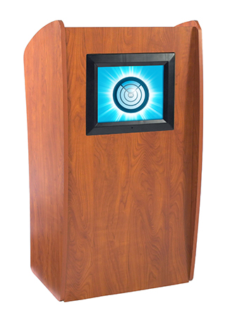 Vision Lectern/Podium with Screen