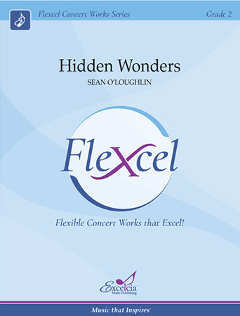 Hidden Wonders band sheet music cover