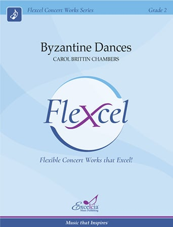 Byzantine Dances band sheet music cover