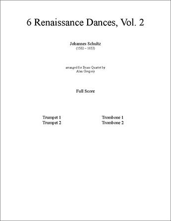6 Renaissance Dances, Vol. 2