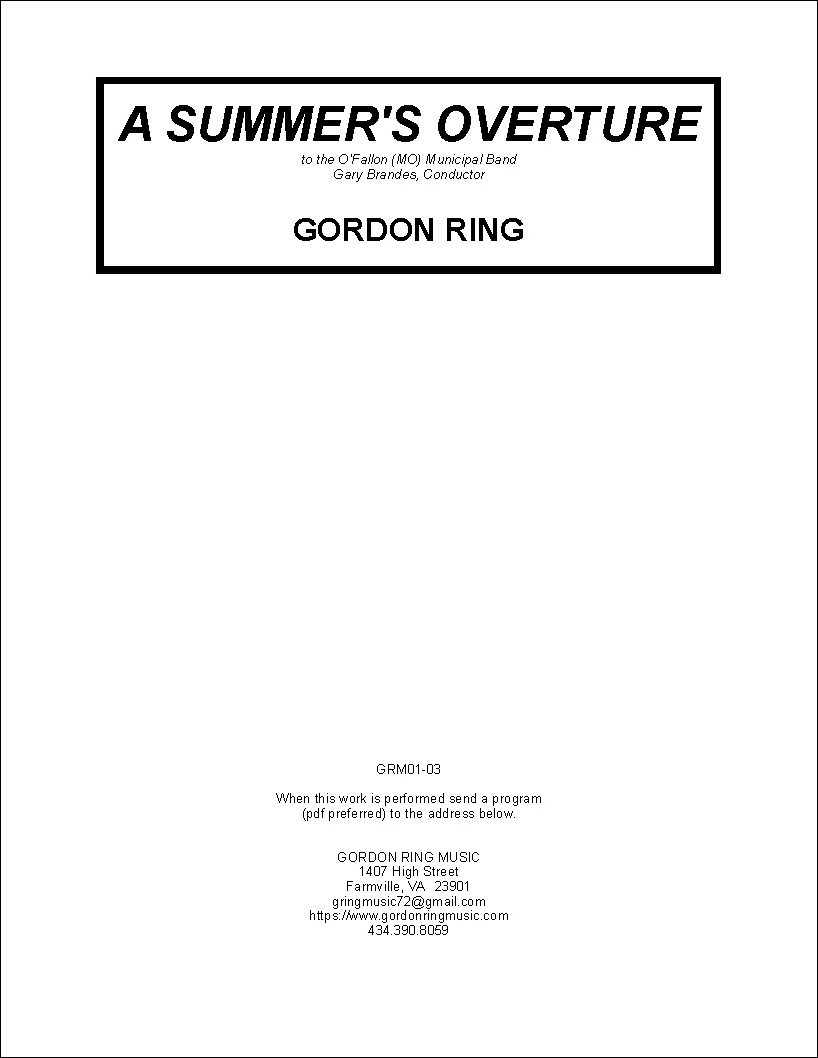A Summer's Overture