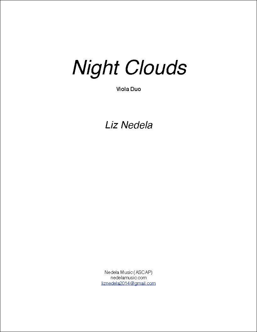 Night Clouds - Viola Duo
