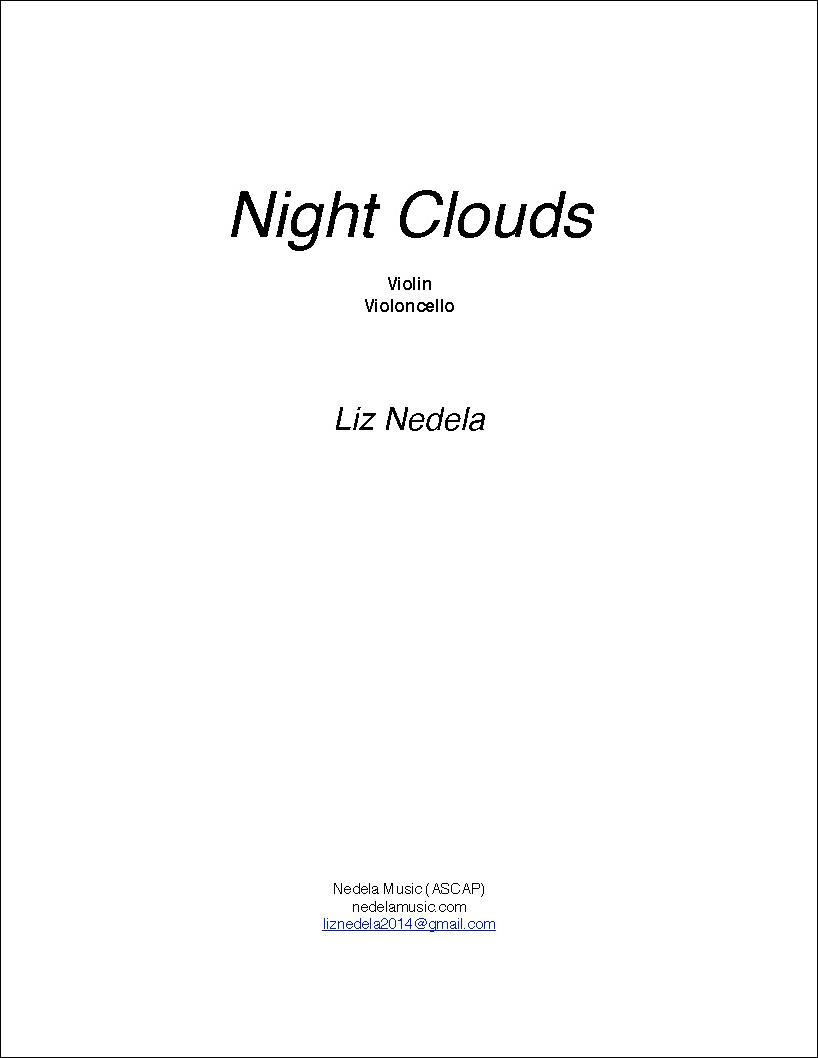 Night Clouds - Violin, Violoncello