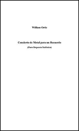 Concierto de Metal para un Recuerdo