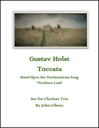 Toccata set for Clarinet Trio