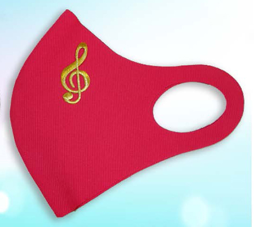 Music-Themed Face Masks