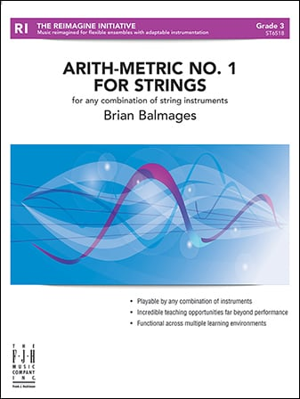 Arith-Metric No. 1 for Strings orchestra sheet music cover