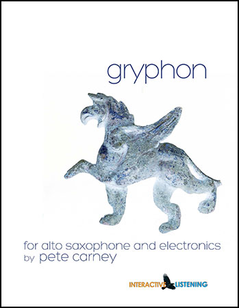 Gryphon for Soloist and Electronics
