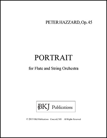 Portrait For FLute and String Orchestra