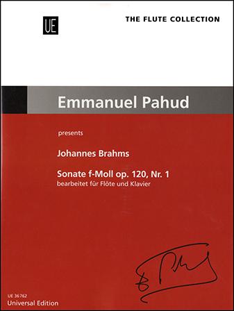 Sonata in F Minor, Op. 120, No. 1 Cover