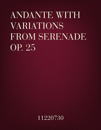 Andante with Variations for 2 flutes and clarinet