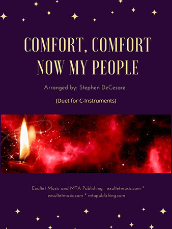 Comfort, Comfort Now My People Thumbnail