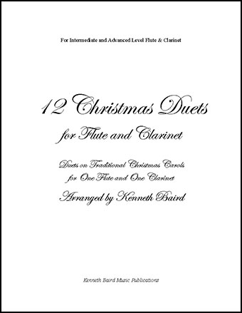 12 Christmas Duets for Flute and Clarinet