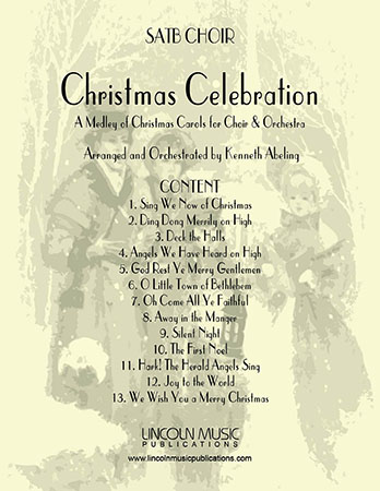Christmas Celebration (for SATB Choir, Audience & Orchestra)