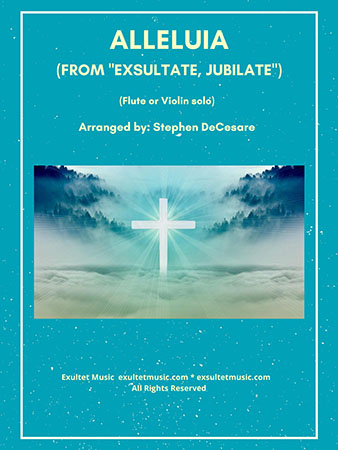 Alleluia from Exsultate, Jubilate