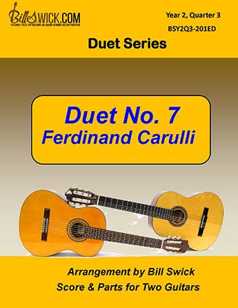 Bill Swick's Year 2, Quarter 3 - Ensembles for Two Guitars