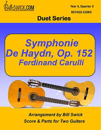 Bill Swick's Year 4, Quarter 3 - Ensembles for Two Guitars
