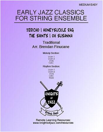 Early Jazz Classics for String Ensemble Thumbnail