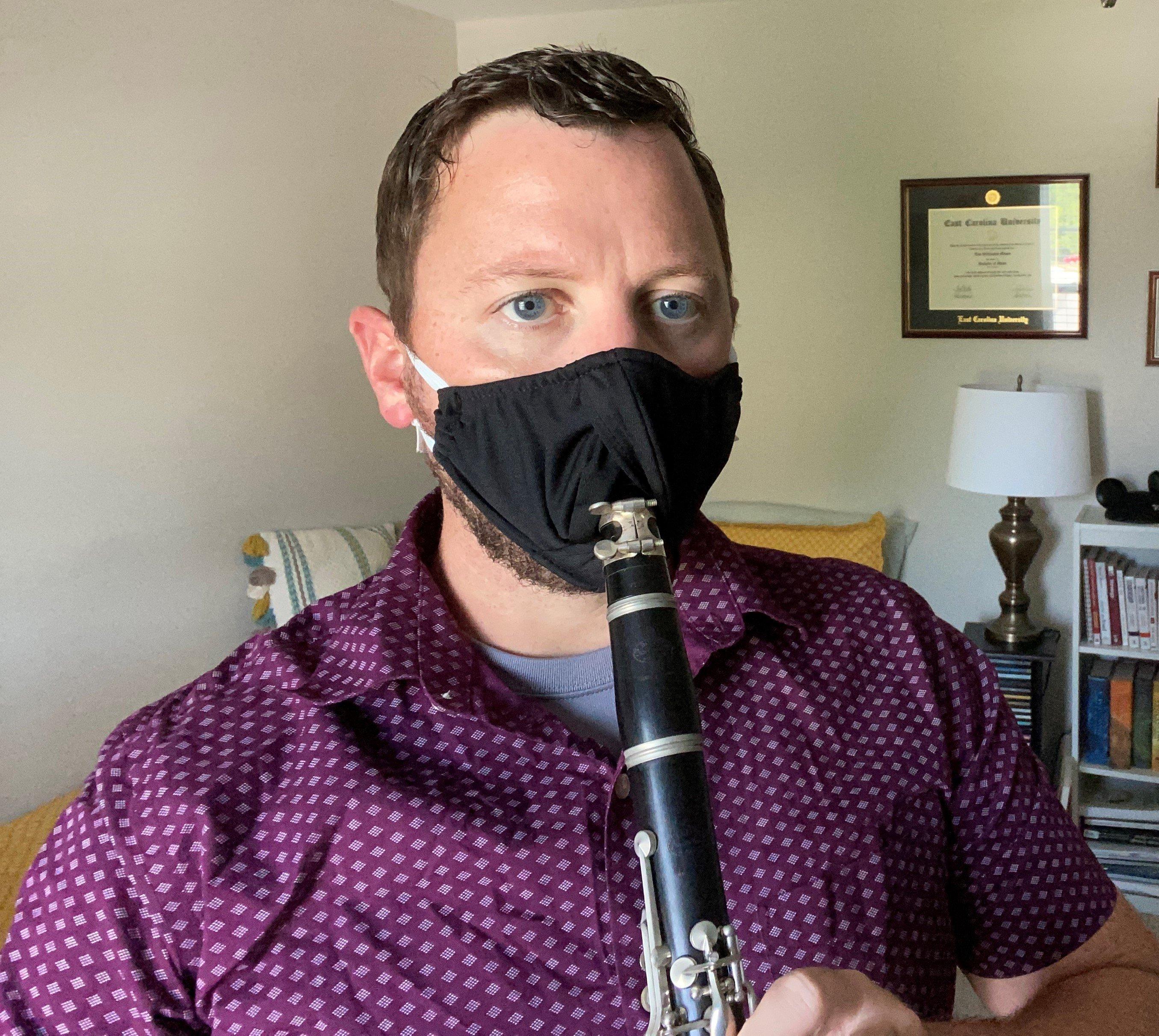 Performance Series Face Masks brass sheet music cover