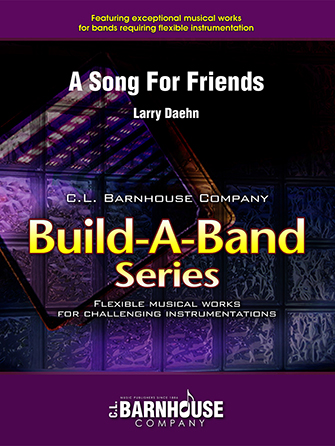 A Song For Friends band sheet music cover