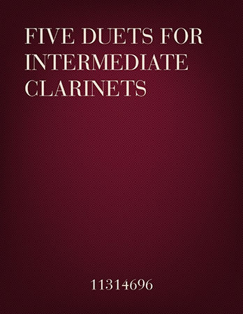 Cecile Chaminade 5 Duets for Intermediate Clarinets