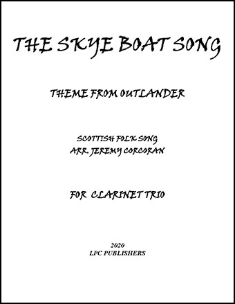 The Skye Boat Song for Clarinet Trio