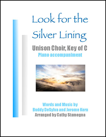 Look for the Silver Lining-Key of C