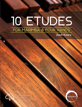 10 Etudes for Marimba & Four Hands