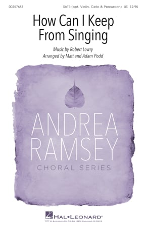 How Can I Keep From Singing? choral sheet music