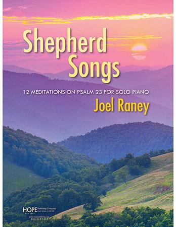 Shepherd Songs piano sheet music cover