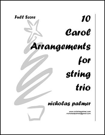 10 Christmas Carols for String Trio vol. 1