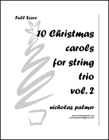 10 Christmas Carols for String Trio vol. 2