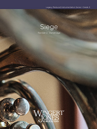 Siege band sheet music cover