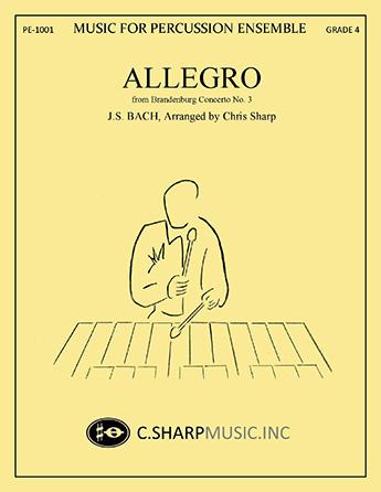 Allegro from Brandenburg Concerto No. 3