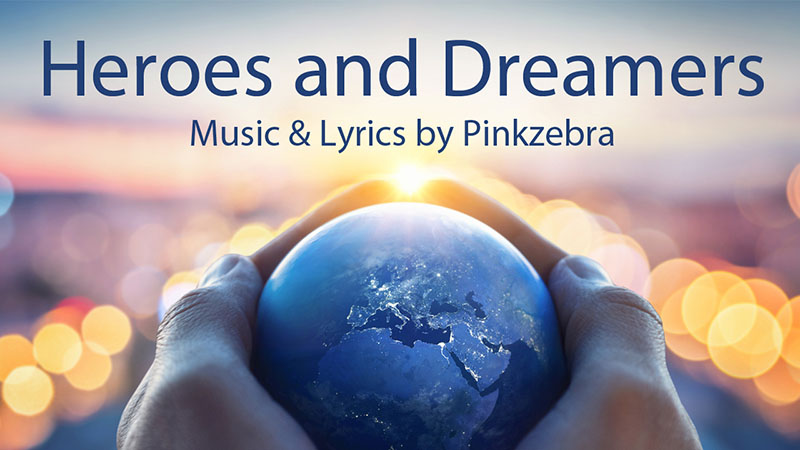 Heroes and Dreamers choral sheet music