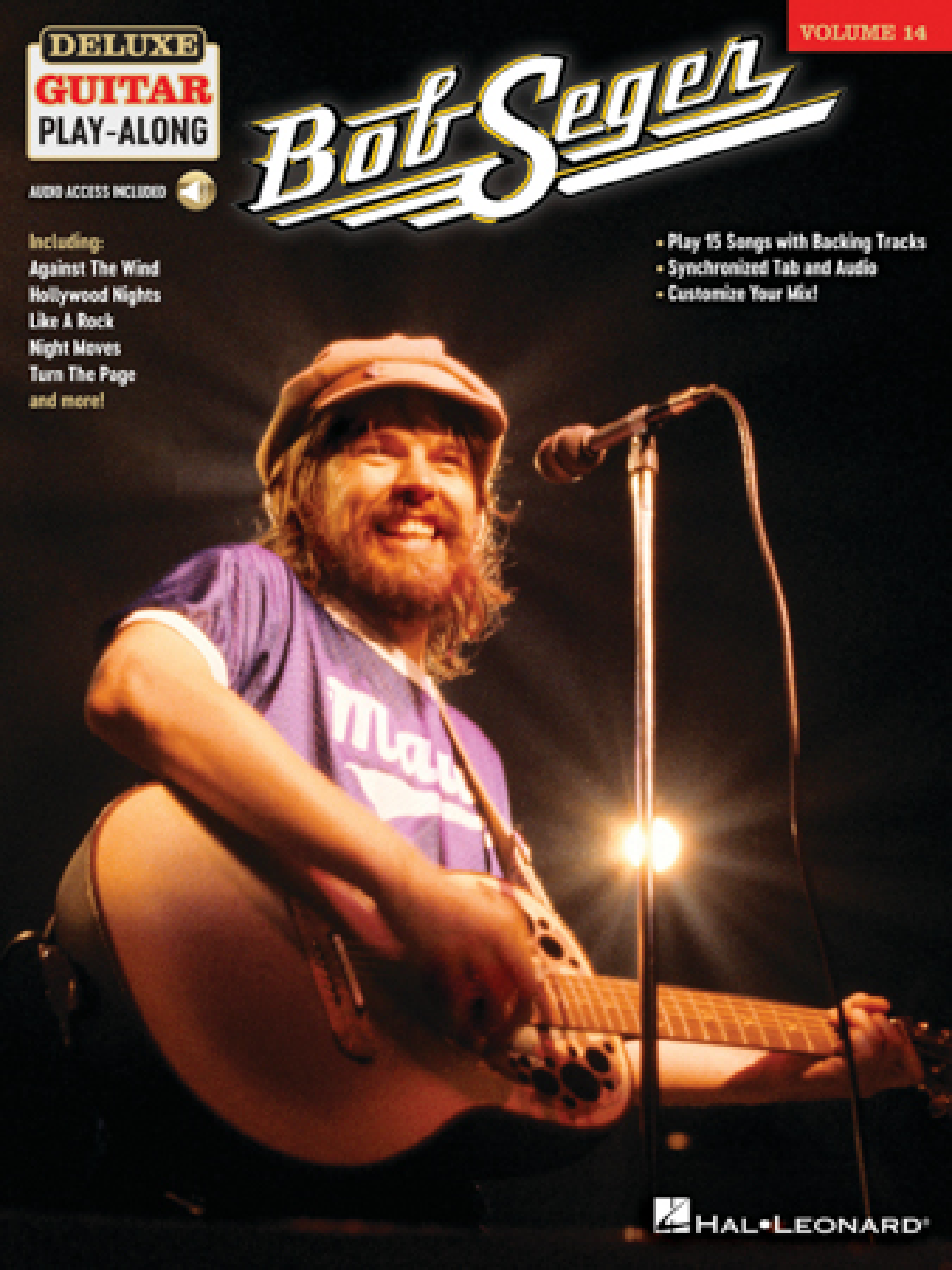 Bob Seger Deluxe Guitar Play-Along Vol. 14